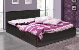 Треви 2 160 кровать интерьерная черный