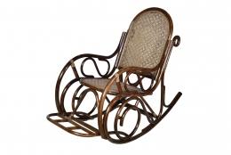 Кресло-качалка плетеная из ротанга Br 0663К