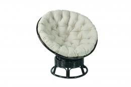Вращающееся кресло Папасан (Papasan) плетеное из ротанга c/п DB 0726К