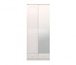 Амалия СБ-990 Шкаф 2-х дверный с зеркалом Правый