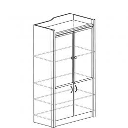 Колумб 703 Шкаф для книг