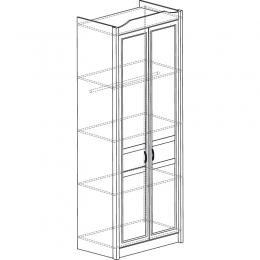 Леон  531 Шкаф 2-дверный