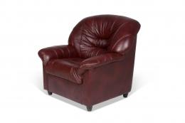 Шарлотта кресло ТТ Фиссато оксблад+к/з Бордо