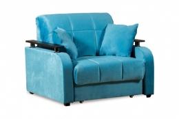 Неаполь 086 диван-кровать 1а 80 С68/Б88/П00 245бирюза