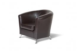 Бонн кресло К/З Рекс 320 коричневый