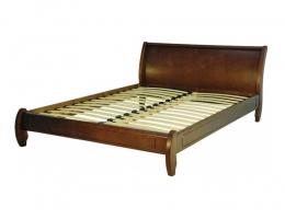 Омега - Престиж кровать б/с 90х200 орех