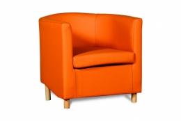 Дисо 3 042.08 кресло 1х Кз Санторини0432(оранж)