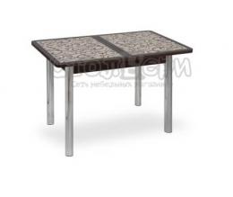 Аспен стол фотопечать, ноги прямые Коричневый/венге