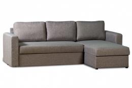 Дублин 211.05 диван-кровать угловой 2д-1Пф 171 серый