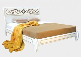 Омега Престиж нимфа кровать б/с 120х200 белый