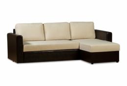 Дублин 211.05 диван-кровать угловой 2д-1Пф 81 беж