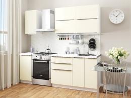 Фьюжн-01 (1,6) кухонный гарнитур Ивори