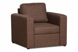 Дублин 211.05 кресло 1х 172 коричневый