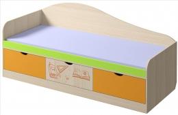"""Кровать «Почемучка"""" с ящиками"""