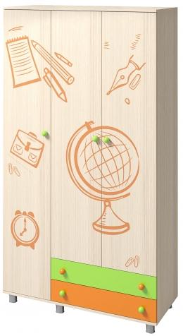 Шкаф трехстворчатый «Почемучка»