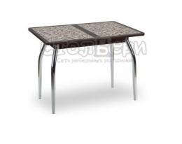 Аспен стол фотопечать Коричневый/венге