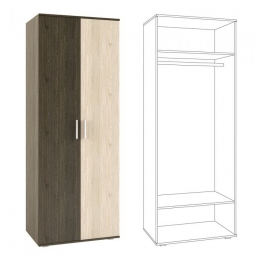 Палермо Шкаф 2-дверный 200