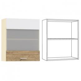 Адель Шкаф навесной 600 витрина