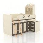 Калипсо (для мальчиков) кровать комбинированная со столом 509.230