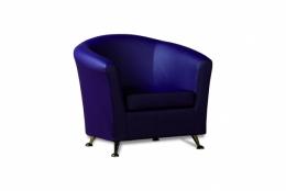 Бонн кресло К/З Санторини 0407(фиолетовый)