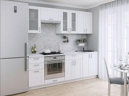 Лофт-01 (2,2) кухонный гарнитур Белый