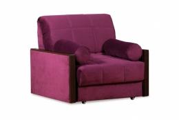 Орион 084 диван-кровать 1а 80 С68/Б86/П00 244фиолет