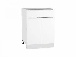 Фьюжн 600 Шкаф нижний с 2-мя дверцами и ящиком
