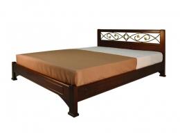 Омега Классика (Нимфа) кровать 180х200 Орех