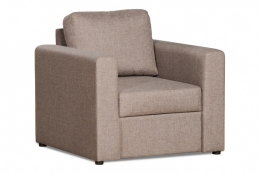 Дублин 211.05 кресло 1х 82 коричневый