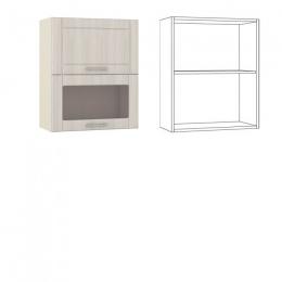 Катрин Шкаф навесной 60 1 дверь +1 витрина