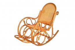 Кресло-качалка плетеная из ротанга DH 0663К