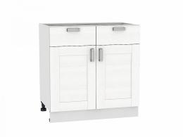 Лофт 800 Шкаф нижний с 2-мя дверцами и 2-мя ящиками