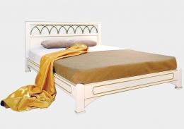 Омега Классика Рим кровать б/с 120х200 белый