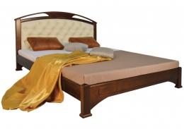 Кровать «Омега Люкс» (ПУМА) 90х200 орех