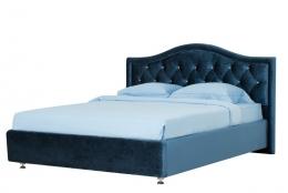 Каролина 140 кровать интерьерная Вельвет люкс