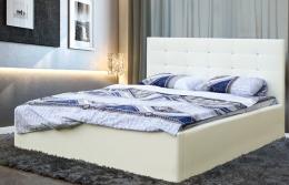 Виктория 140 кровать интерьерная белый