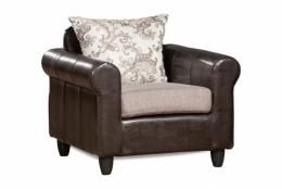 Меценат 013.05 кресло 1 192 бежевый/коричневый