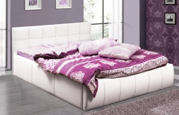Треви 2 160 кровать интерьерная белый