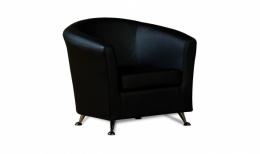 Бонн кресло К/З Санторини 401 черный