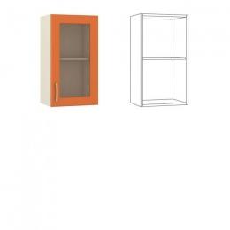 Сандра Шкаф навесной 40 с витриной