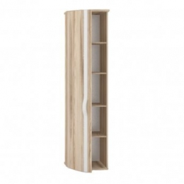 Марта ЛД.636080.000 Шкаф-окончание с гнутой дверью левый