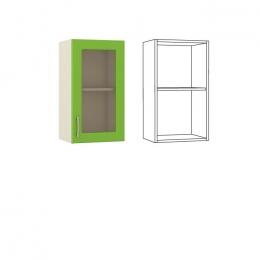 Лора Шкаф навесной 40 с витриной