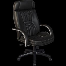 LK-7 Pl кресло кожа черный