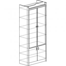 Колумб 708 Шкаф для книг (высокий)