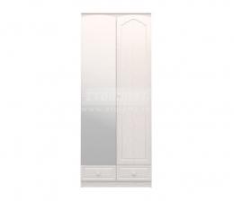 Амалия СБ-990 Шкаф 2-х дверный с зеркалом Левый