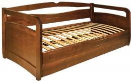 Кровать «Омега» (Венеция) 80 орех