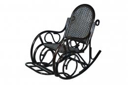 Кресло-качалка плетеная из ротанга DB 0663К