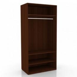 Александрия ЛД 625050 М шкаф 2-х створчатый корпус